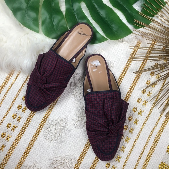 bf1b335fc A New Day Natalee Bow Backless Loafer Mules